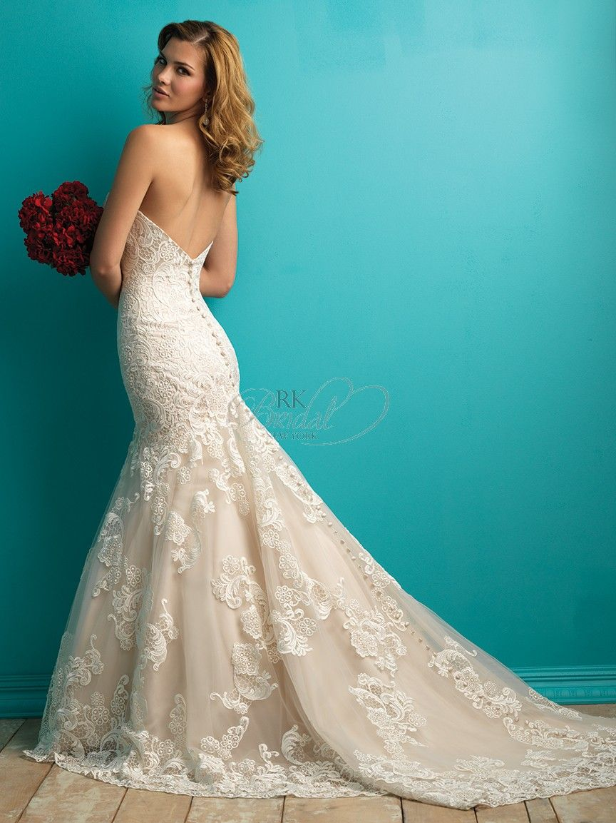 Allure Bridal Fall 2015 - Style 9257 | Wedding Gown Inspiration ...