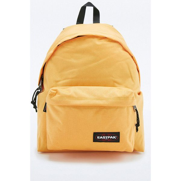Eastpak Finding Money Padded Pak'R Backpack ($76) ❤ liked on Polyvore  featuring