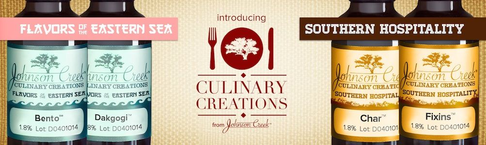 Culinary Creations - our April Fools' line of flavors for 2014.