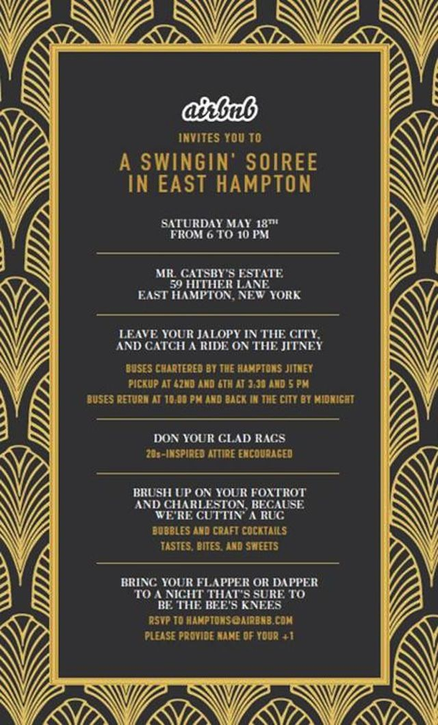 17 Best images about Great Gatsby Invitations on Pinterest | 1920s ...