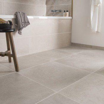 Carrelage sol et mur greige harlem x cm - Carrelage rectangulaire salle de bain ...