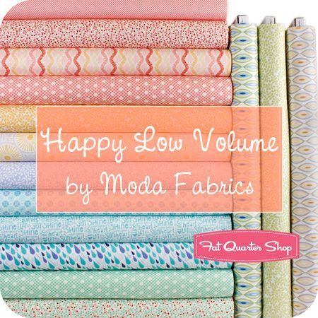 How happy is happy?  Happy Low Volume Bundle by Moda Fabrics!