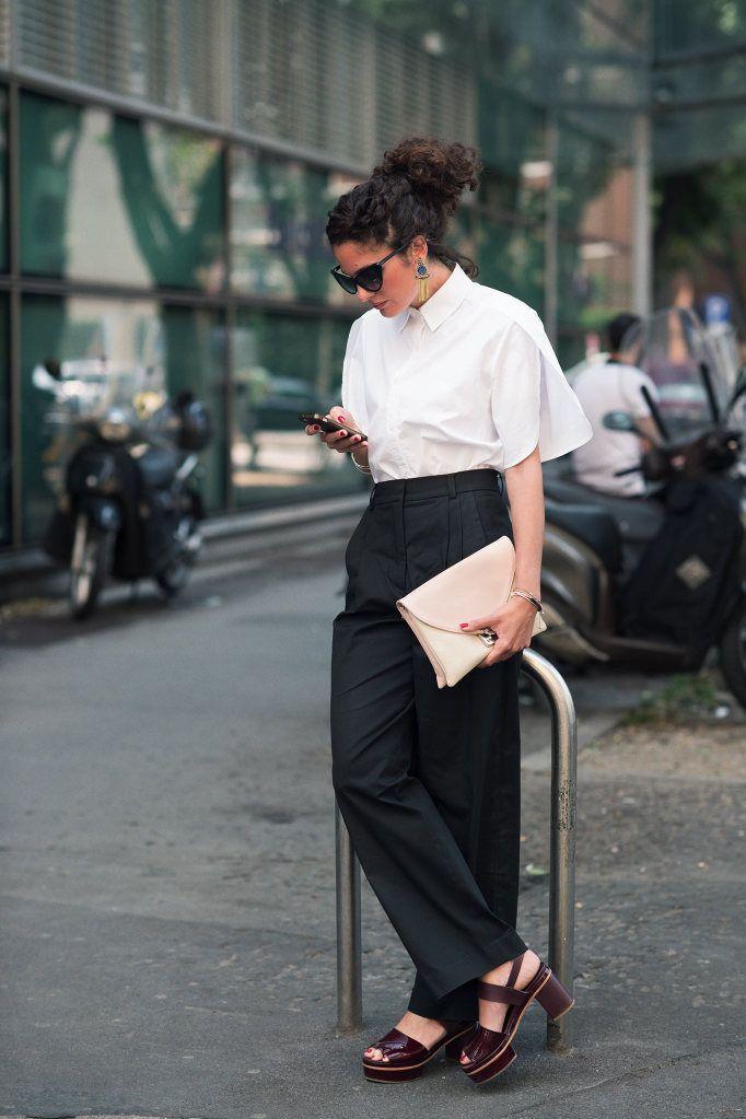 so well tailored. #MariannaCimini in Milan.