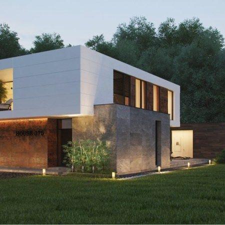 Country residence in Sudimlja was designed by Russian architect Alexandra Fedorova. Images by Alexandra Fedorova