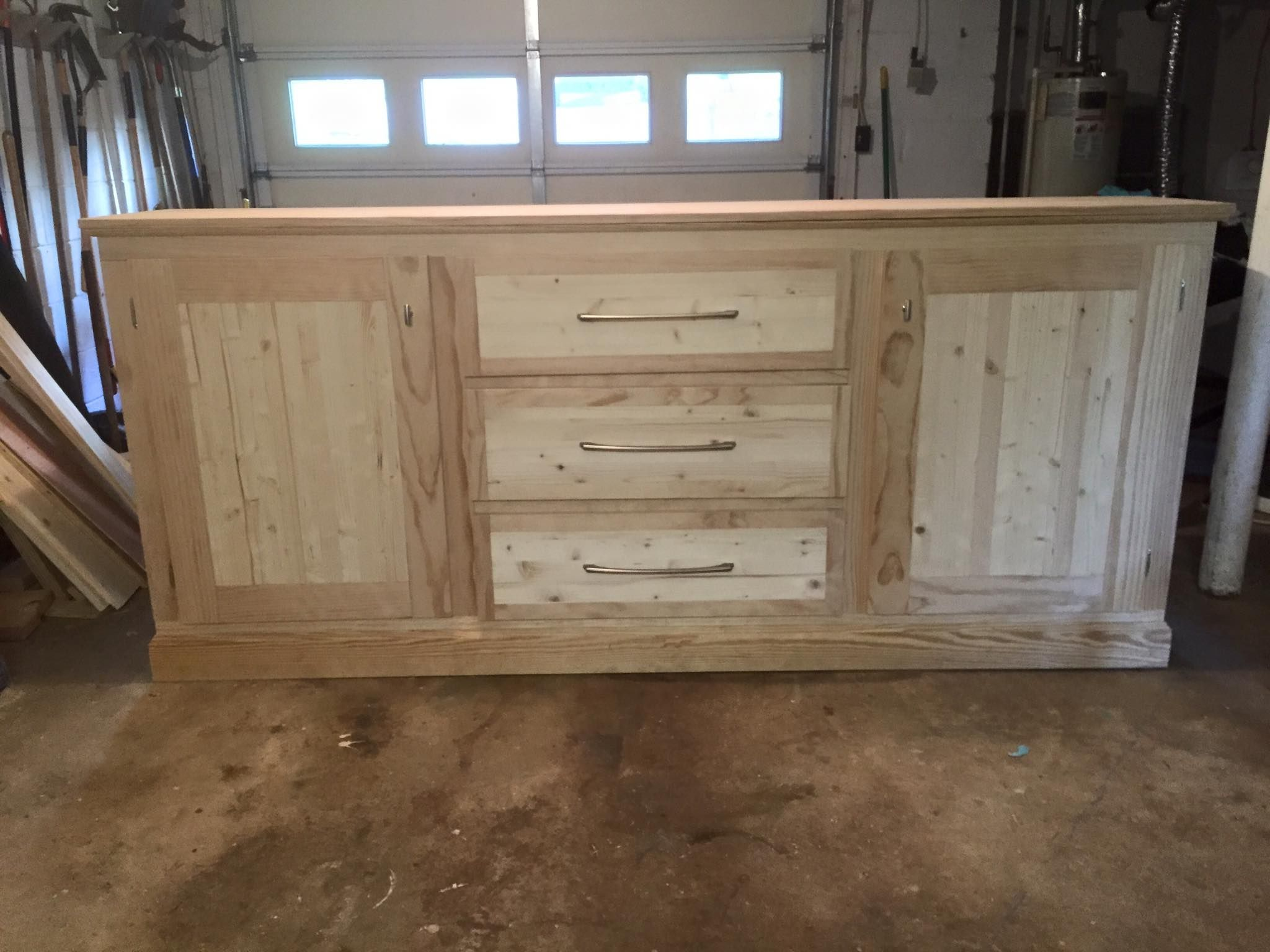 Extra Long Buffet Cabinet Do It Yourself Home Projects From Ana White