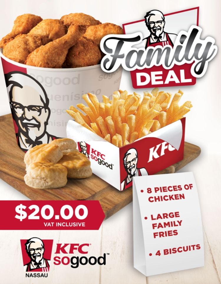 Easter‬ is family time with KFC ‪‎Nassau‬. Come and make