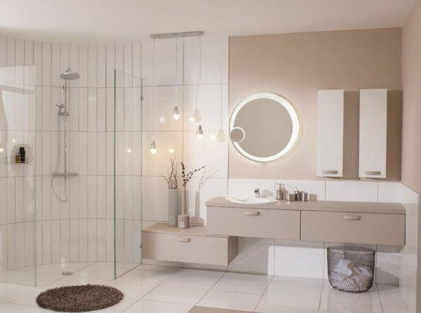 Modèles de miroirs ronds pour la salle de bain