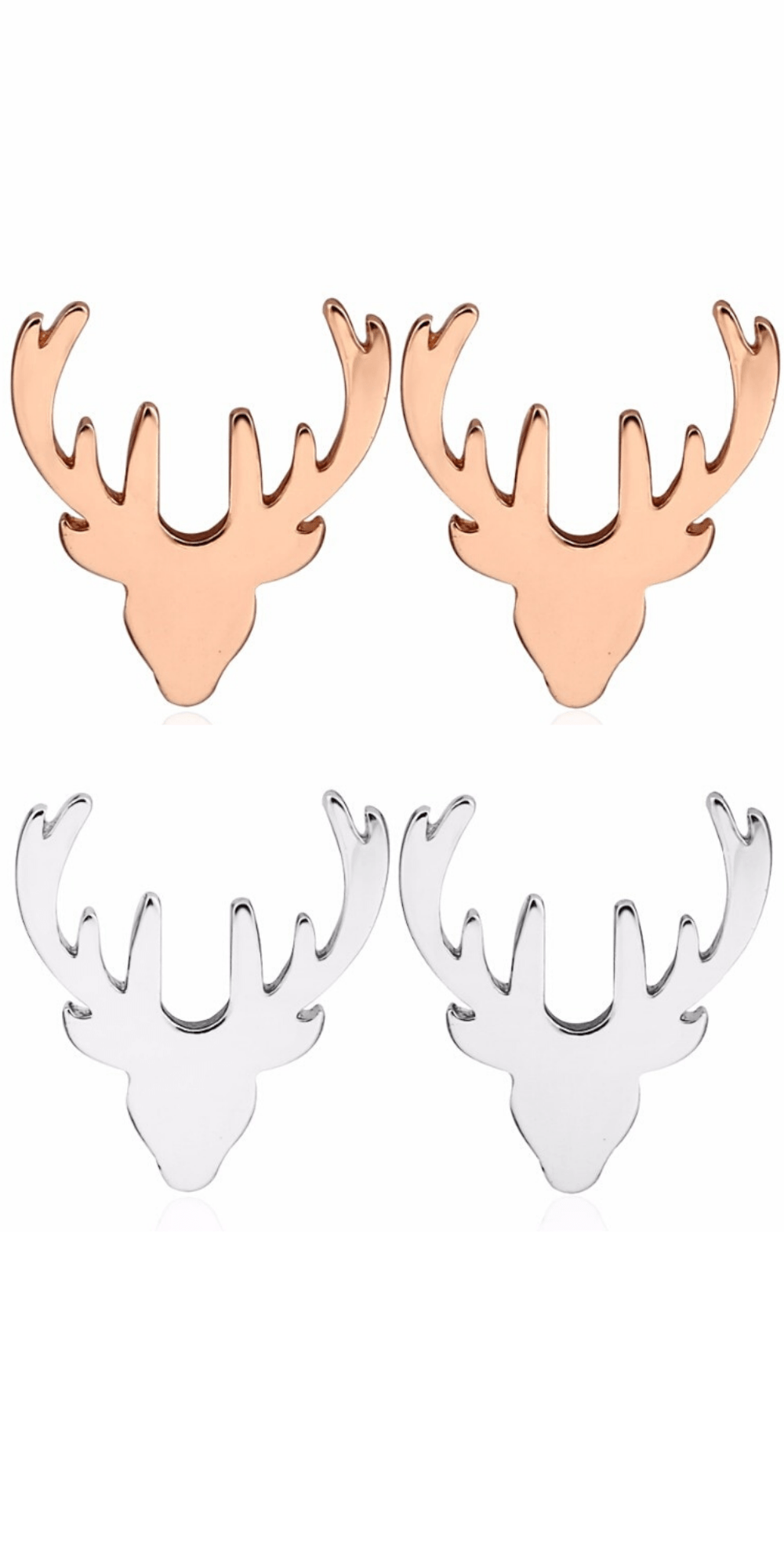 Photo of Deer Earrings for Hunter Girlfriend – Gold Miss – Simple Deer Earrings. # …