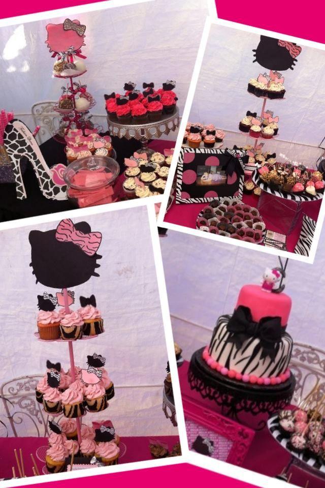 Jackies Party Creations Cassandras Sweet 16 Hello Kitty Pink