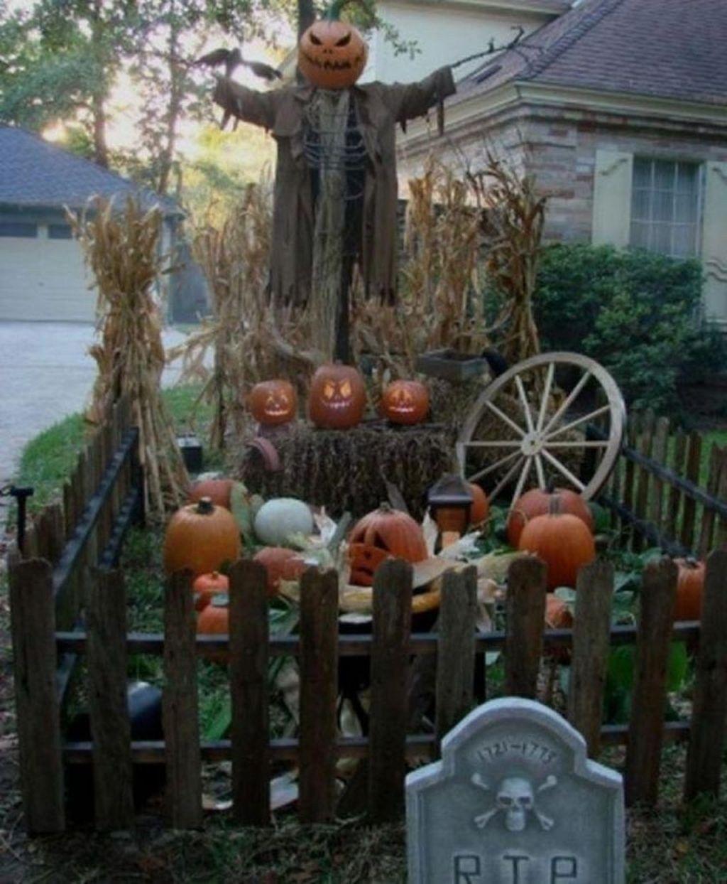 49 Wonderful Diy Outdoor Halloween Decor For Your