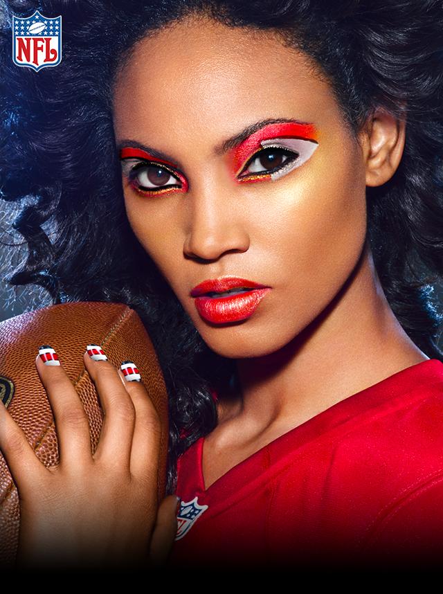 Kansas City Chiefs Football makeup, Makeup