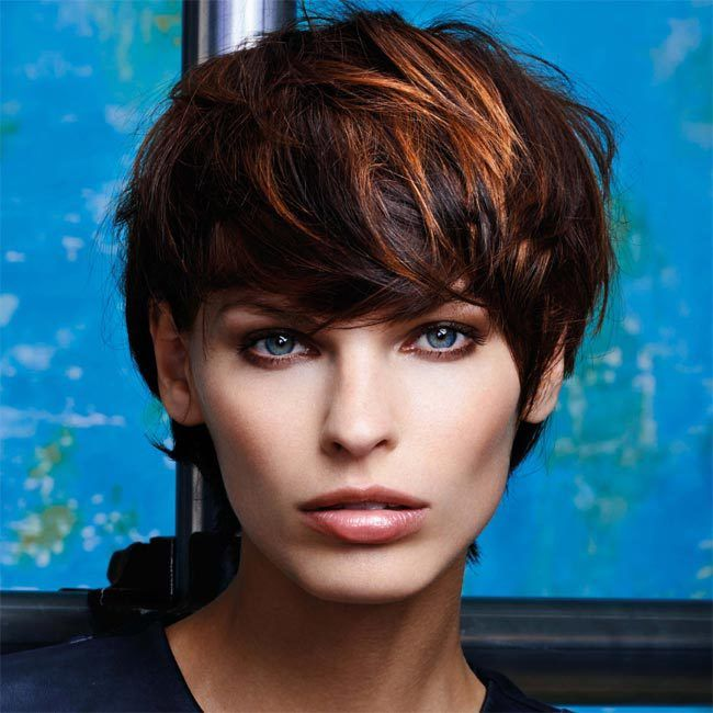 Coiffure cheveux courts FABIO SALSA Tendances automne