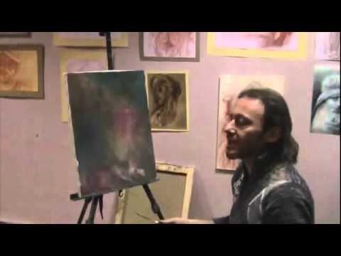 Practical seminar - PART 2 - PORTRAIT, HOW TO PAINT PORTRAIT - full length lesson - Igor Saharov - YouTube