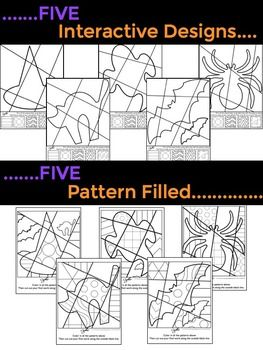 Halloween Interactive Coloring Sheets + Writing Prompts ...