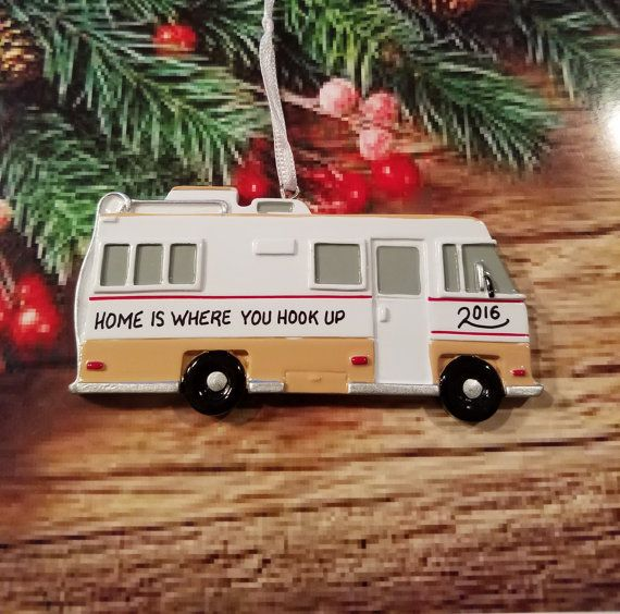 Personalized Rv Camper Christmas Ornament In 2018 Rv Life