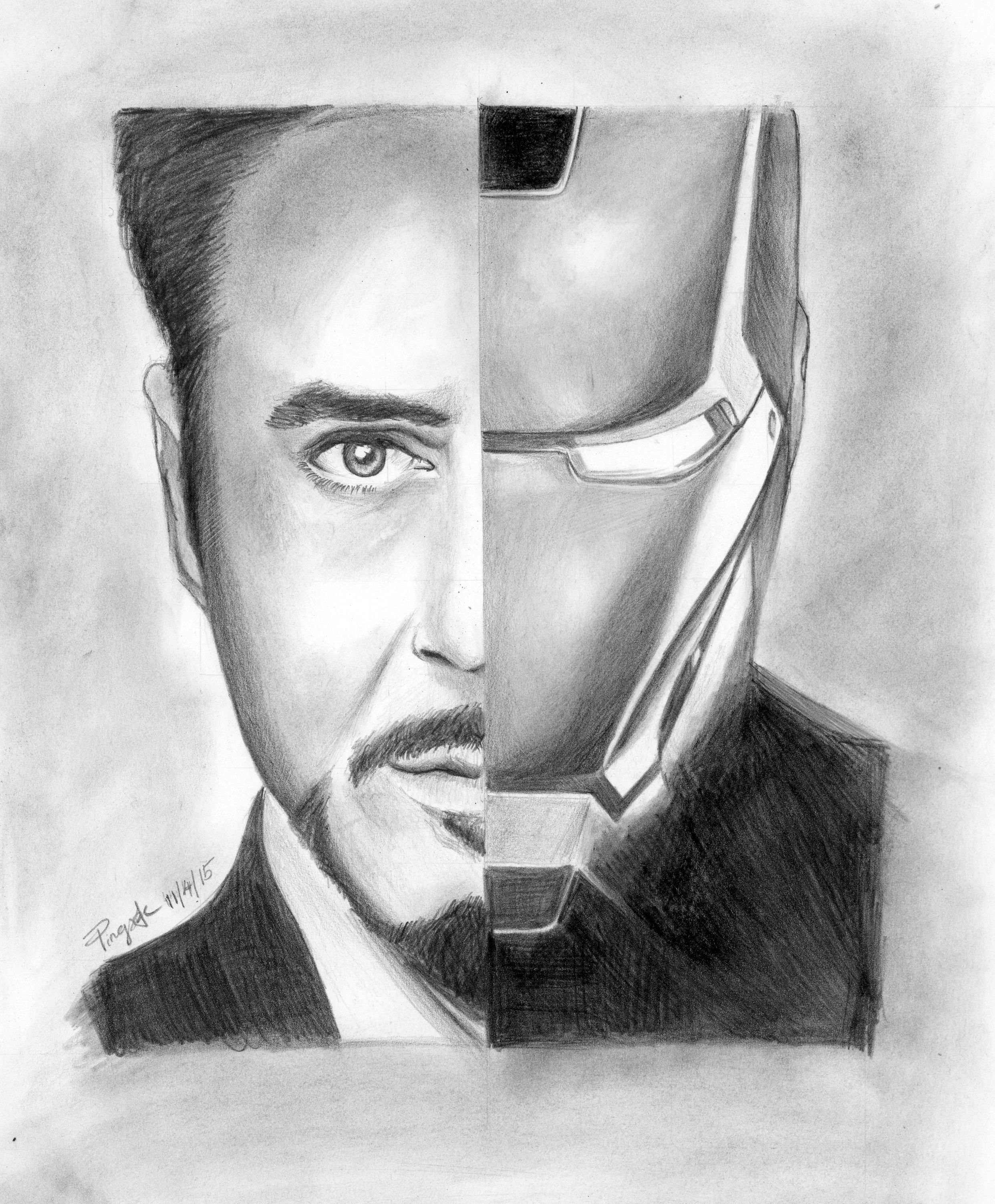 Sketch of ironman tony stark ironman tonystark for Tony stark coloring pages