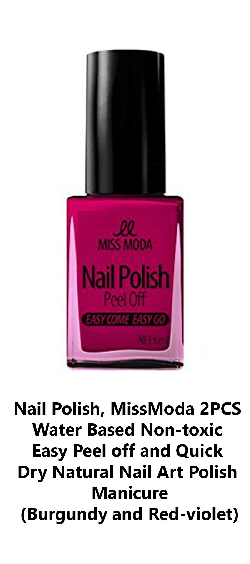 Our water based nail polish is made of high quality ingredients ...