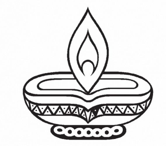 Diwali Colouring Pages Happy Diwali Pinterest