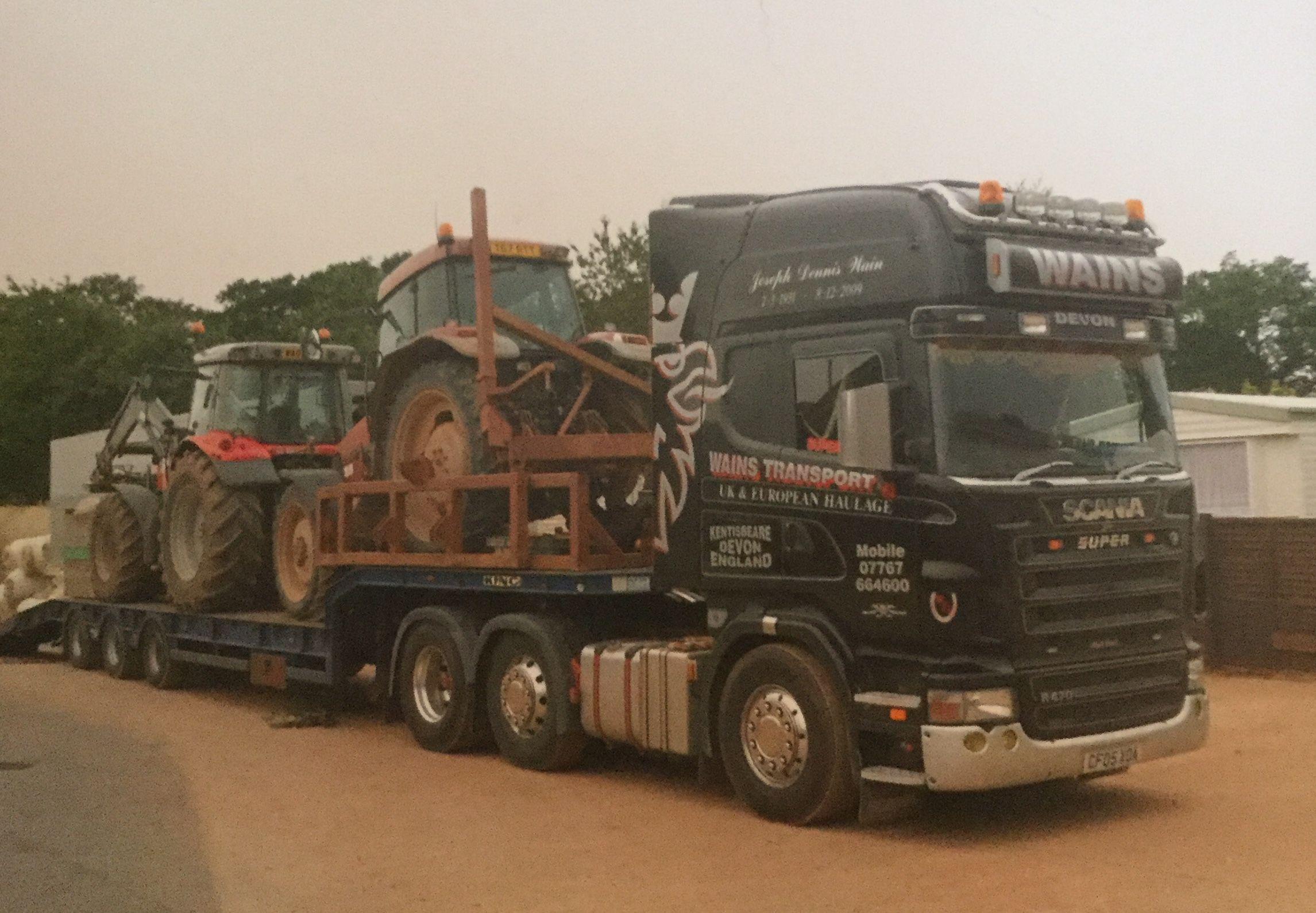 Pin de JWPfavouritetruckphotos em Wains Transport Scania