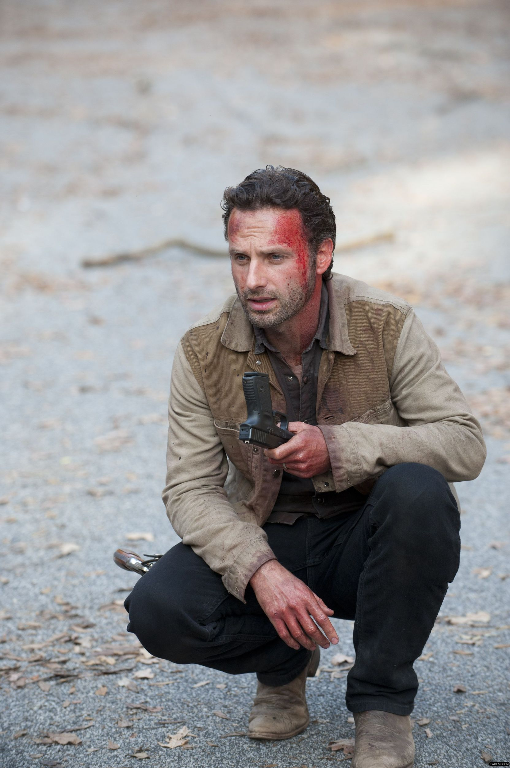 """Rick Grimes: """"Beside The Dying Fire""""."""