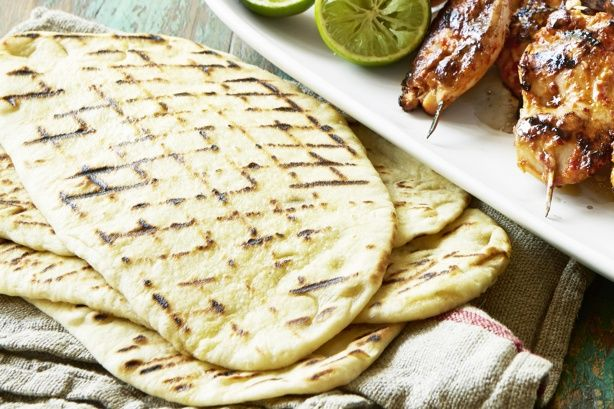 These flat breads can be used with dips as an entree, or as an accompaniment to main meals.