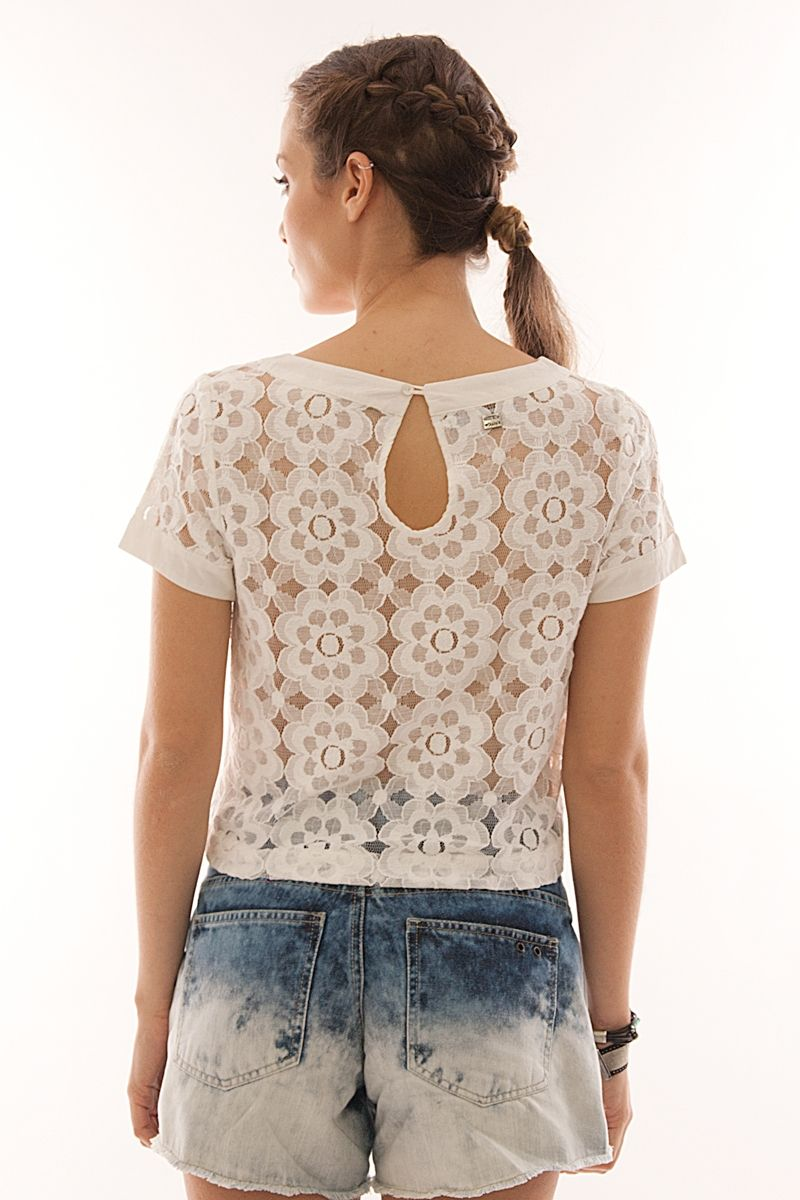 Well-known BLUSA CROPPED LAISE | fashion for teenagers and prom dresses  KW89