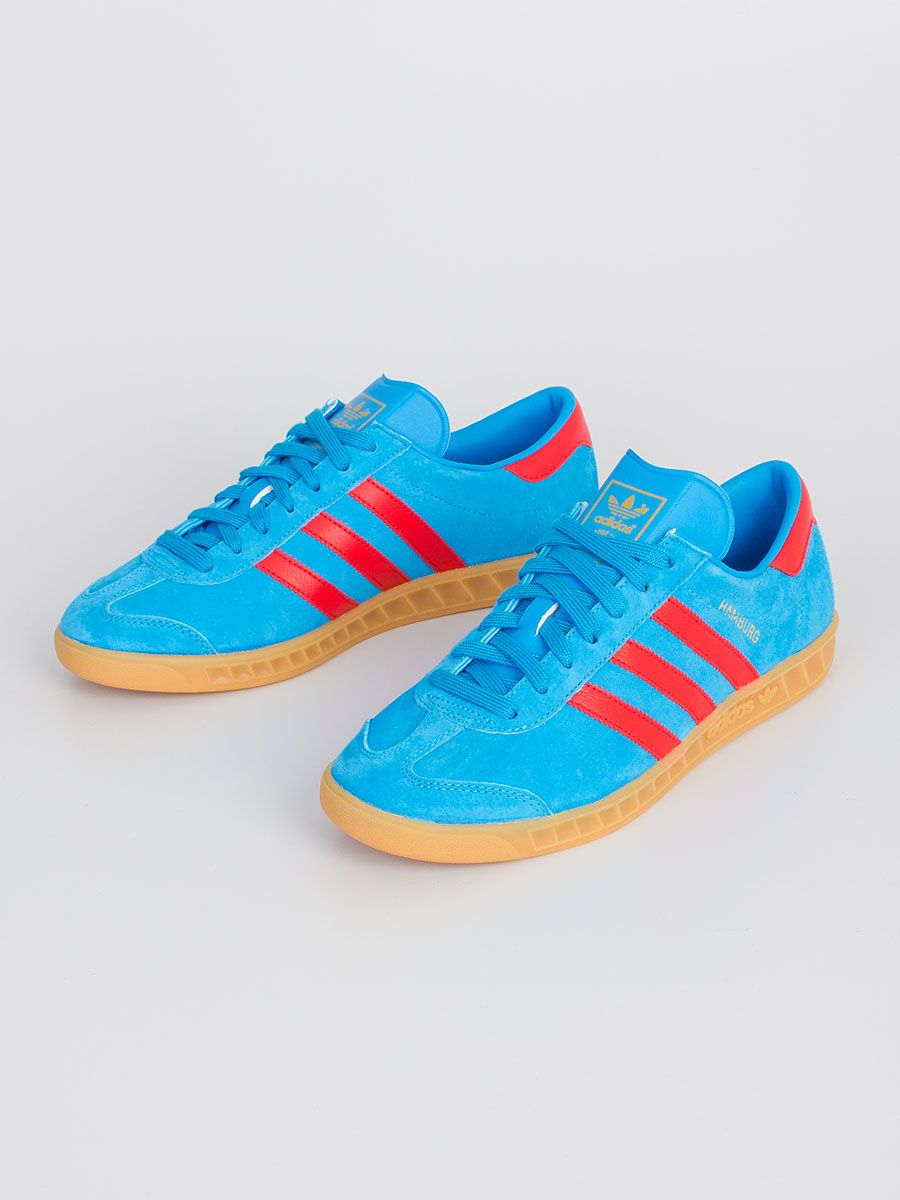 competitive price a88b9 f487f ADIDAS HAMBURG SOLAR BLUE