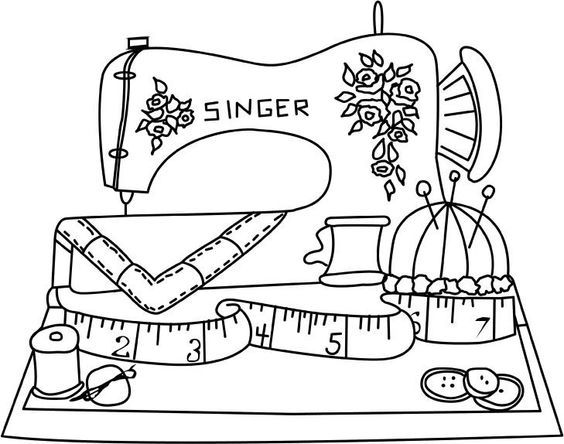 Resultado De Imagen De Dibujos De Costura Para Colorear Redwork Embroidery Embroidery Patterns Embroidery Patterns Vintage