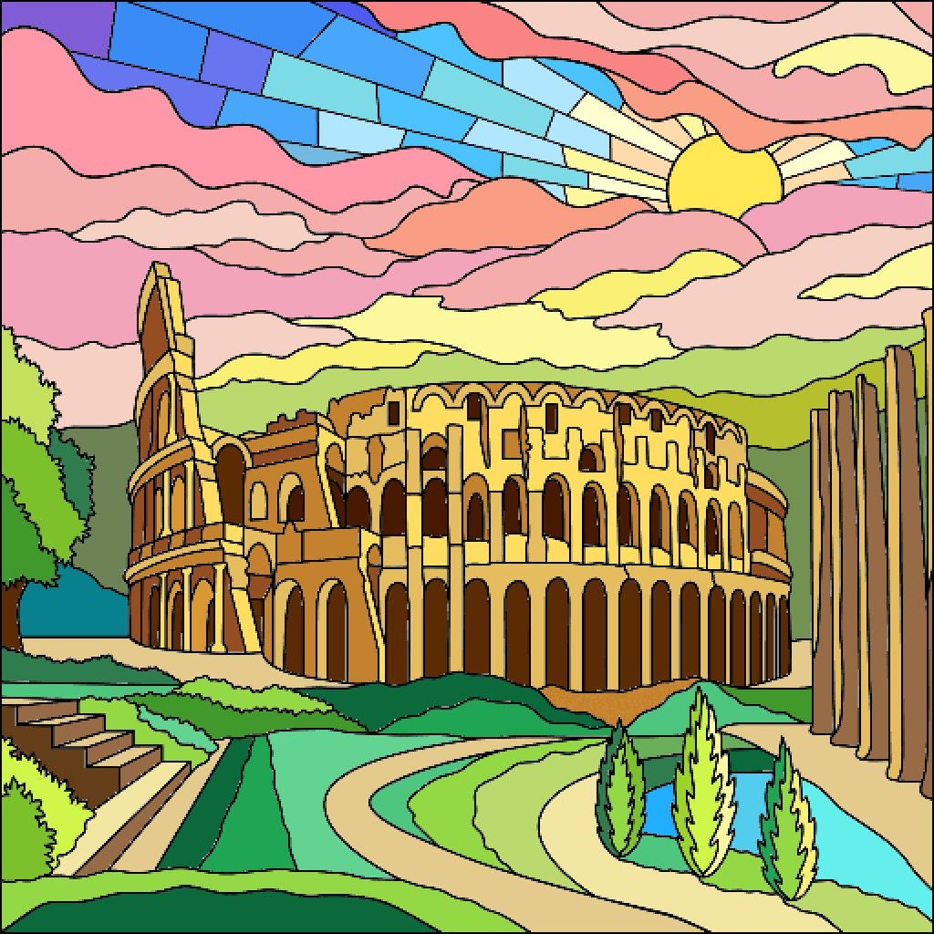 Pin By Nihal Ordu On A Puro Color Colorful Art Happy Colors Coloring Apps