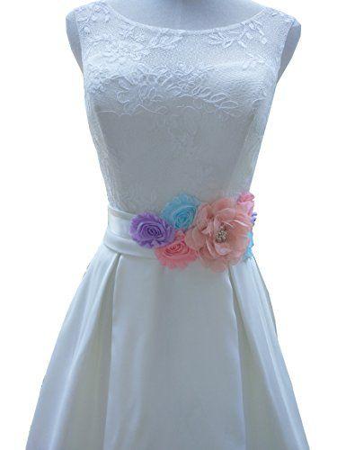 Lemandy Handmade Maternity Dress Sash Belts Pregnancy Eve… | wedding ...