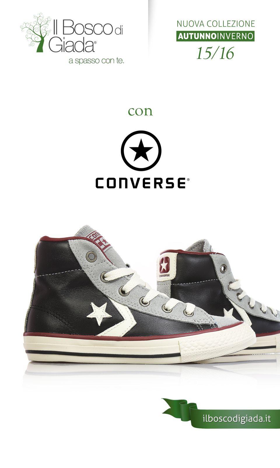 100% authentic f421e 409ce Nuova Collezione #converse Autunno-Inverno 15/16. #Scarpe ...