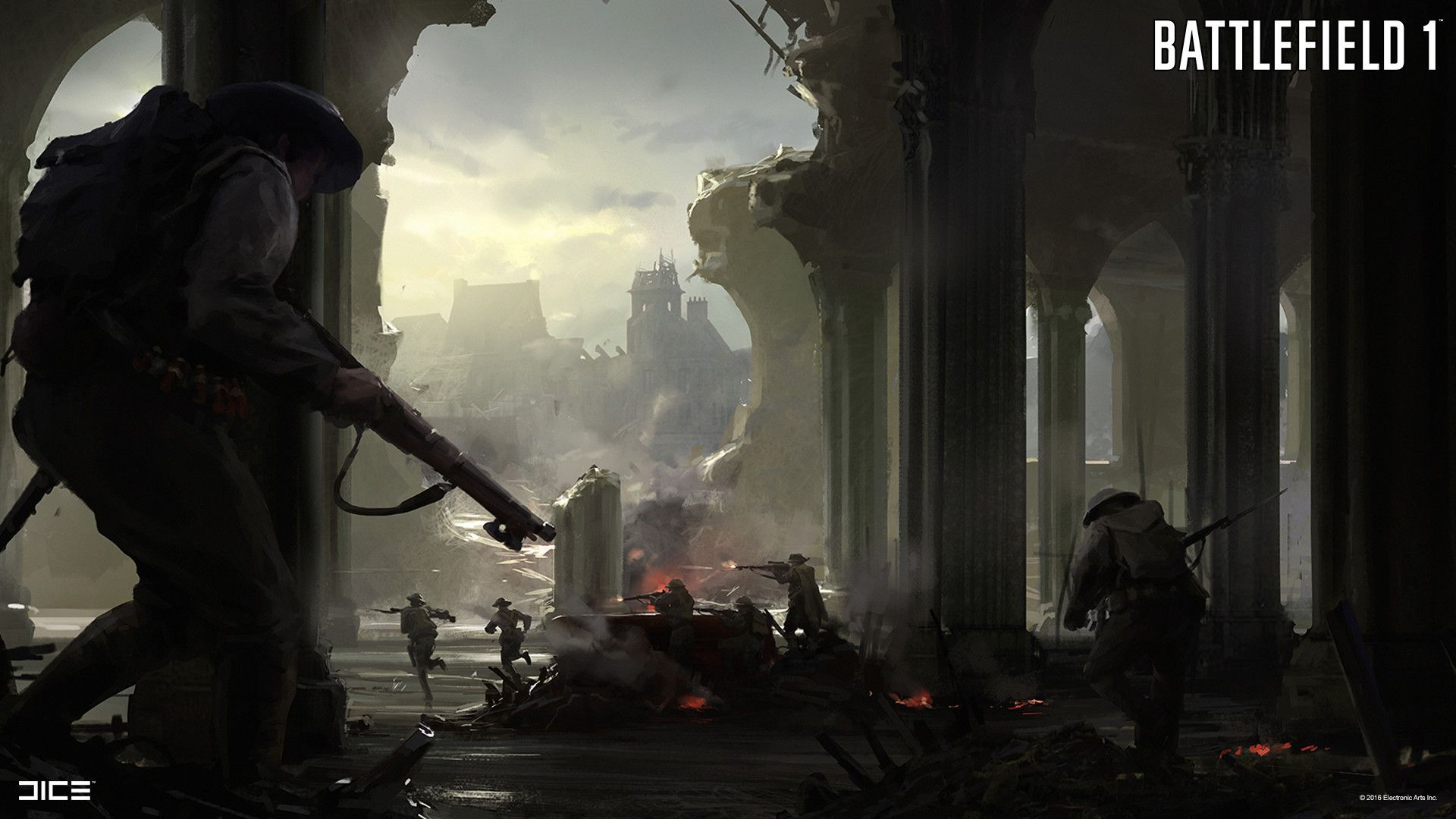 The Art Of Battlefield 1 With Images Battlefield 1