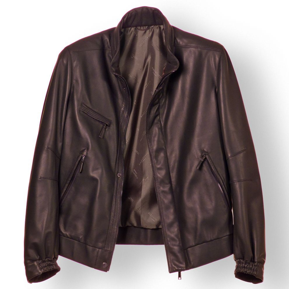 Leather jacket italy - Pierotucci Burgundy Italian Leather Jacket For Men From Florence Italy