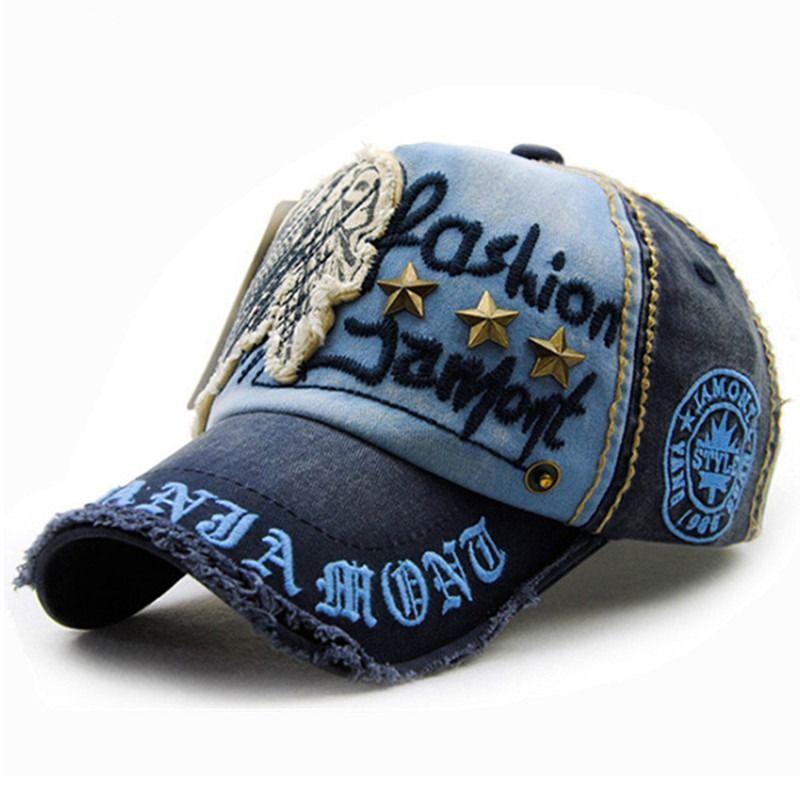 Xthree marca algodón moda bordado estilo antiguo casquette SnapBack  sombrero para hombres mujeres 50d48045f70