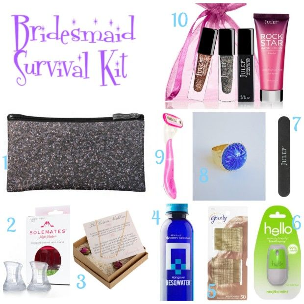 Help Your Las With A Day Of Bridesmaid Survival Kit