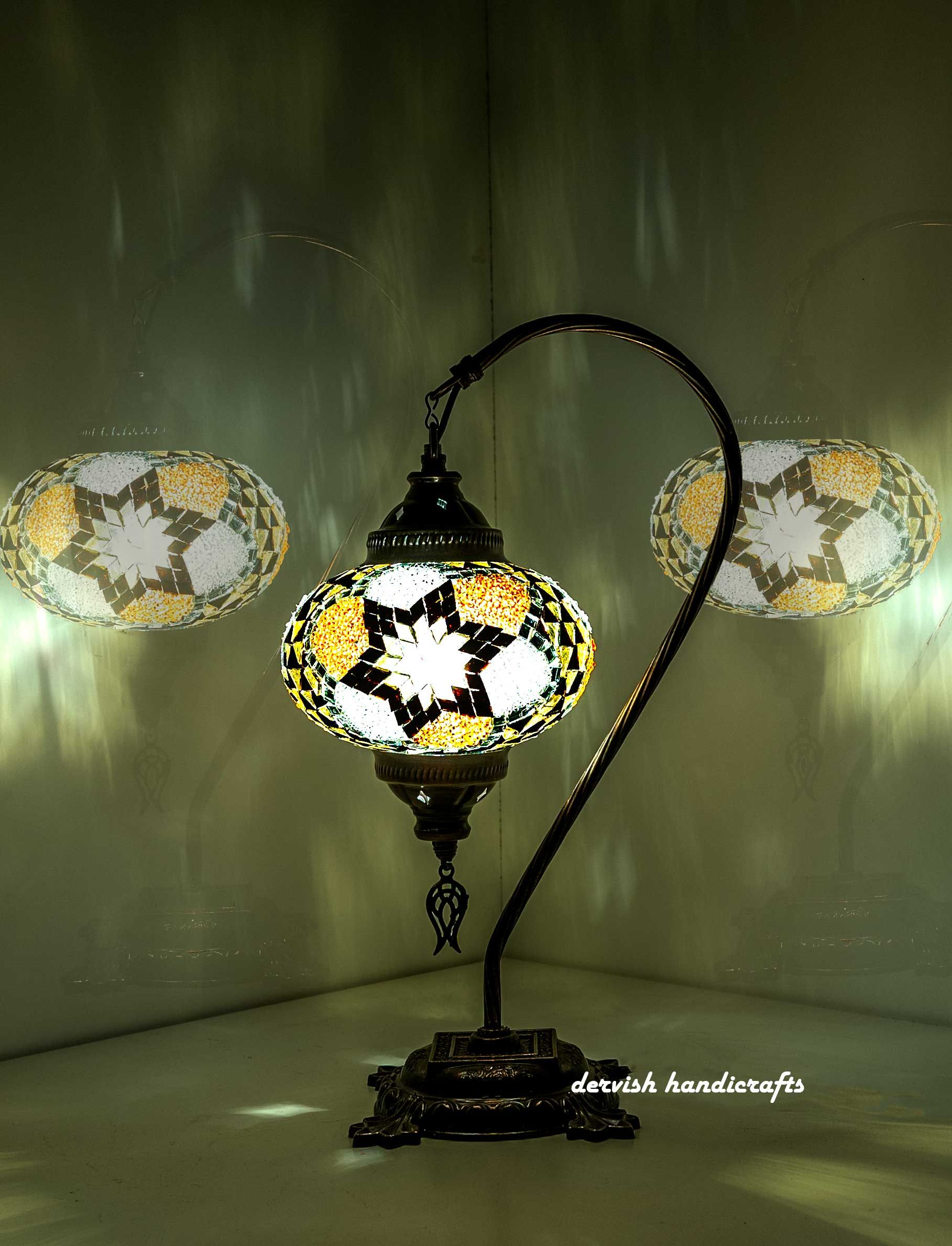Free Ship Table Lamp 17 Height Turkish Lamp Moroccan Lamp Bedside