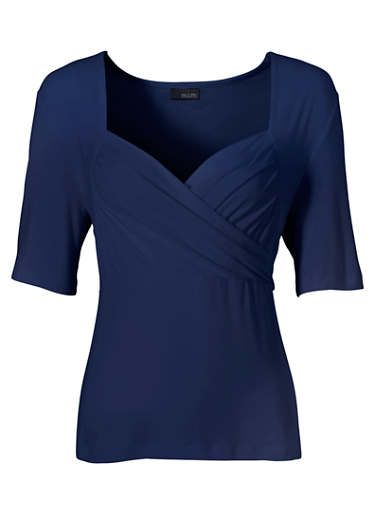Attractive Wrap Front Top
