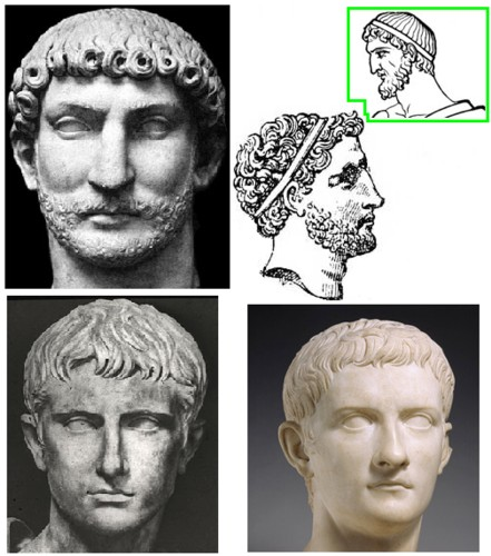 Pin By Neat Nails With Becky Blair On Jcl Roman Hairstyles Roman Man Greek Hair