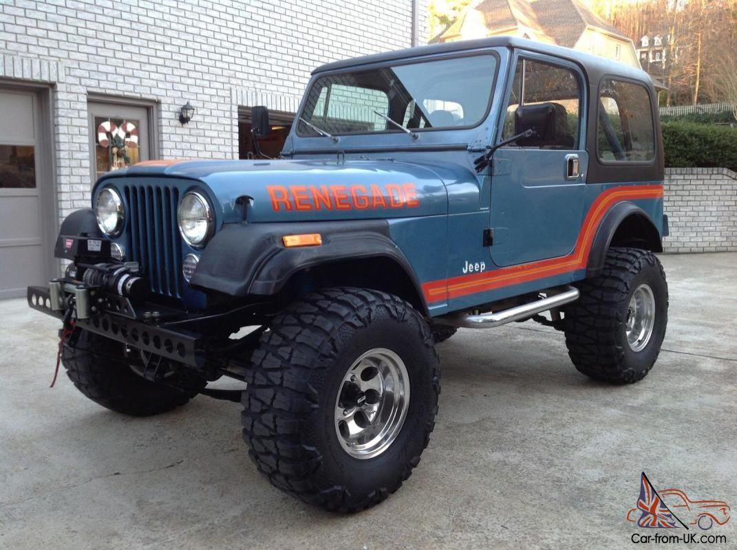 1986 Jeep CJ 7 Renegade 4x4