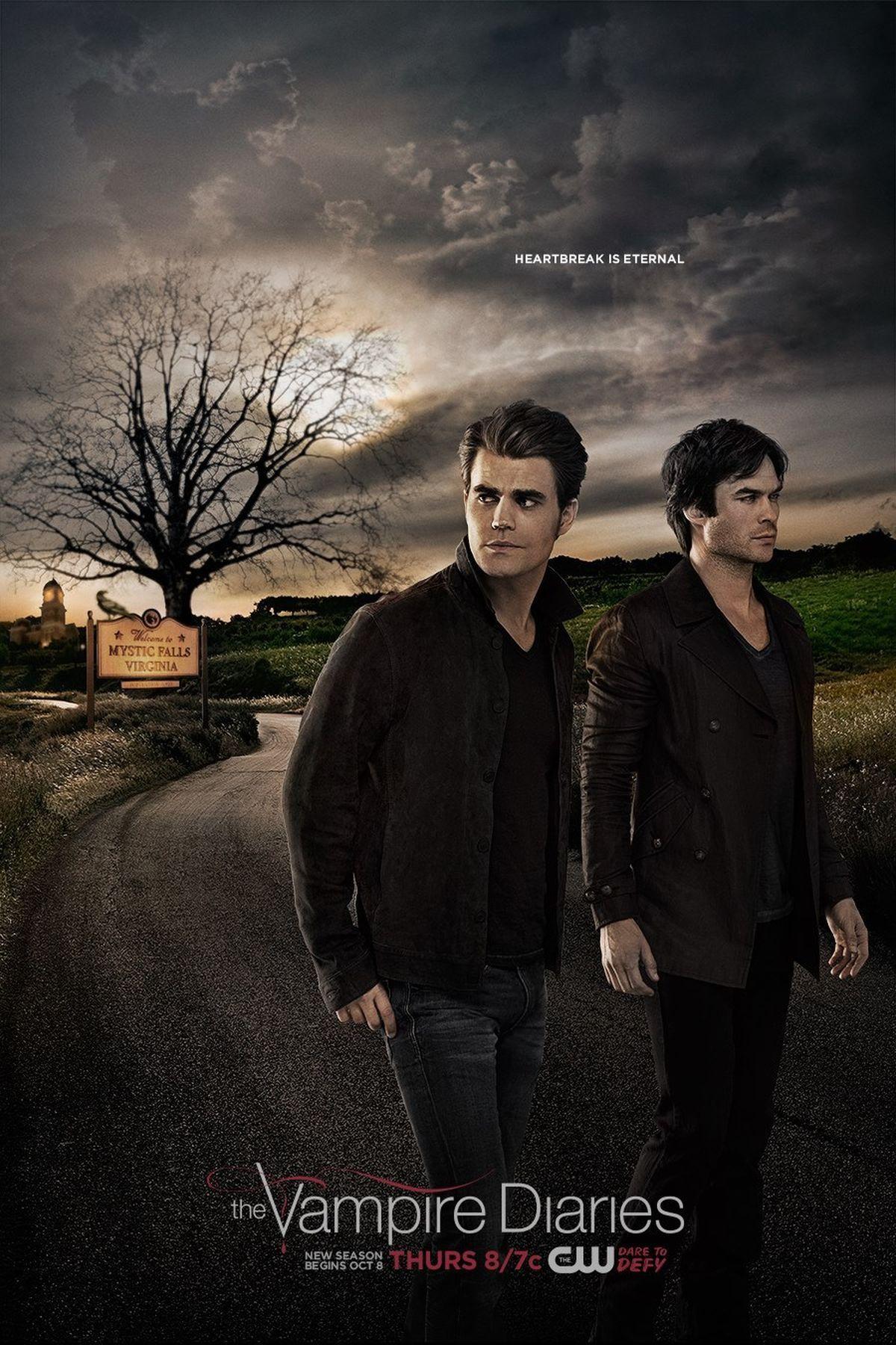 The Vampire Diaries Delena Heartbreak Lives On In New Season 7