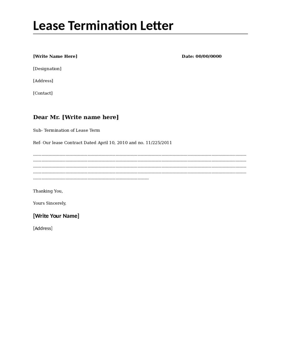 Termination Letter Template Employer Sample Bank Temination Due