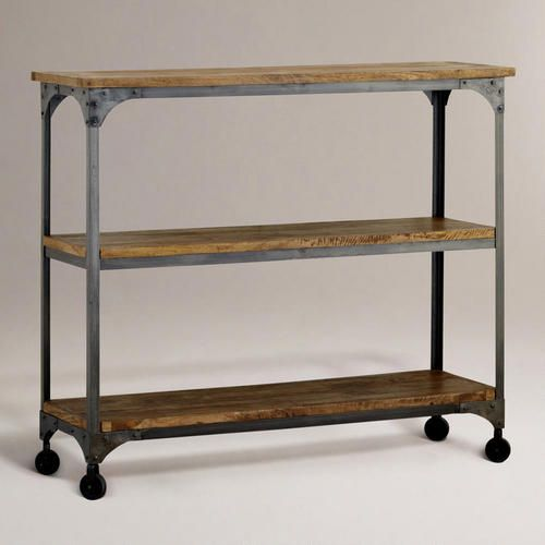 Wood And Metal Jackson Kitchen Cart: I'd Love To Find A Much Less