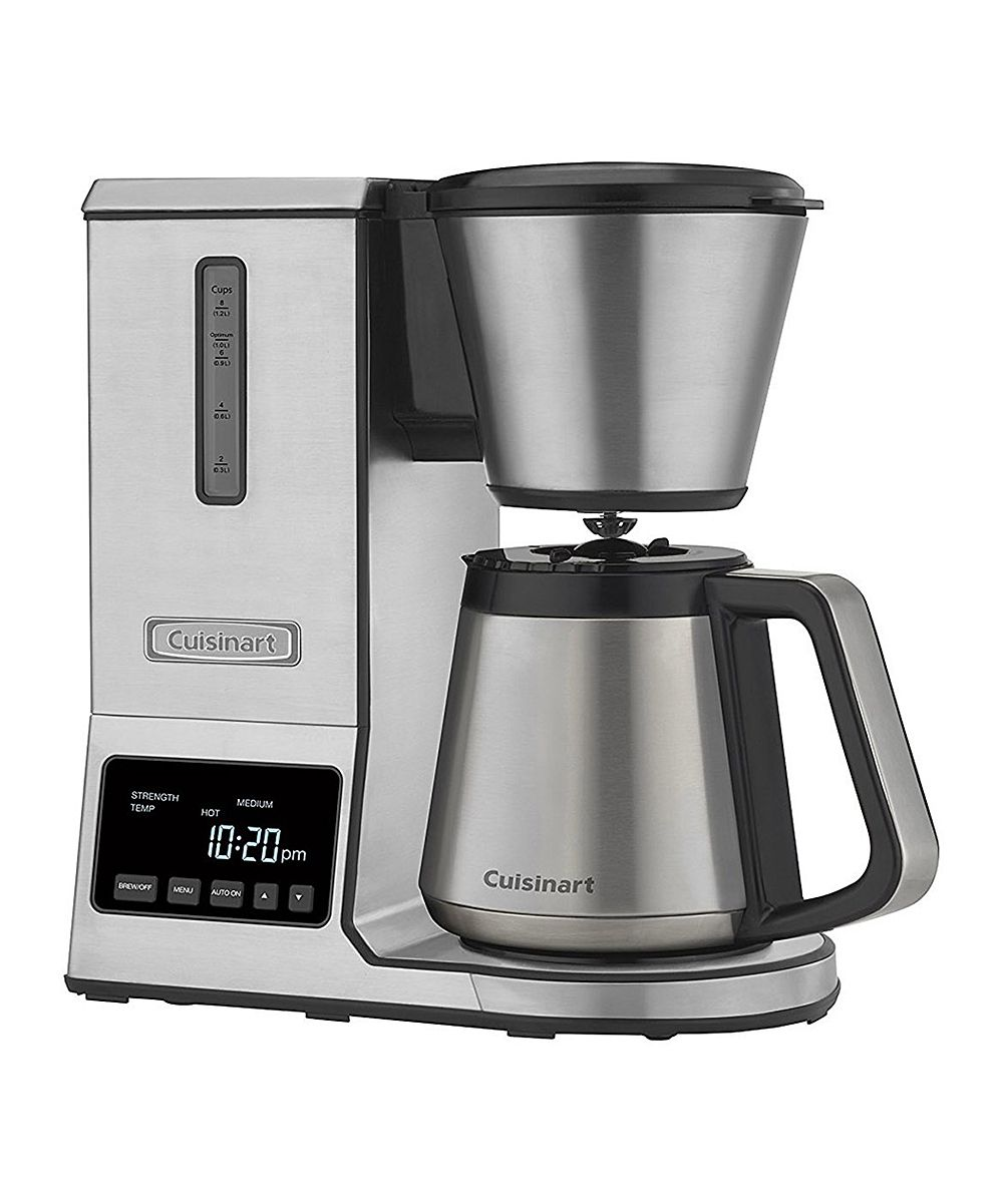 Cuisinart Pure Precision 8 Cup Stainless Steel Thermal Carafe Coffee Maker