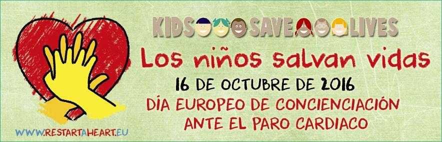 Los niños salvan vidas. Día europeo de concienciación ante el paro cardíaco #Salvacorazones #rcp #svb #primerosauxilios #cpr #bls