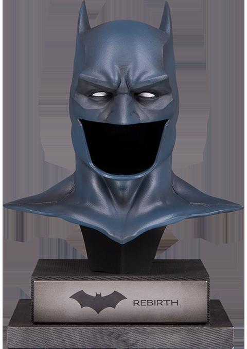 Dc Comics Rebirth Batman Cowl Statue By Dc Collectibles Sideshow Collectibles Batman Cowl Batman Batman Collectibles