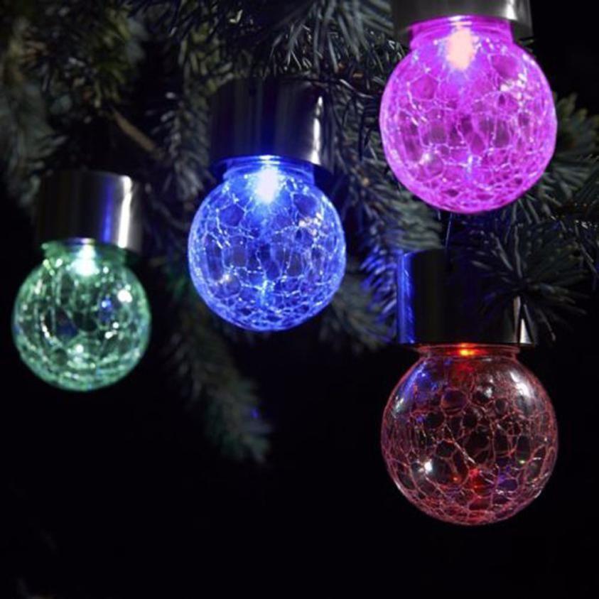 2017 Christmas Tree Ball led lights christmas decorations Outdoor