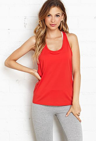 Wrapped Racerback Cardio Tank   FOREVER21 - 2000121225