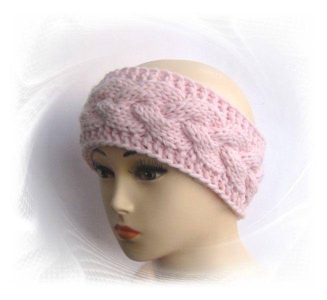 Stirnband Zopfmuster | Stirnband, Zopfmuster und Mütze