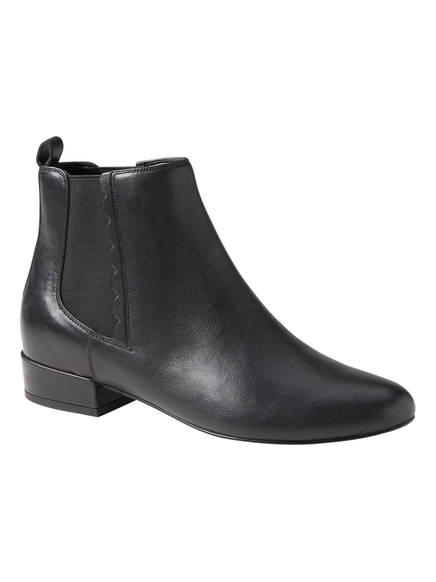 Scallop Detail Chelsea Boot Banana Republic Style Outfits Swim