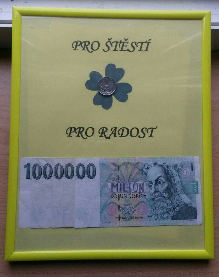 Ako tlovo darova novomanelom peniaze, blog